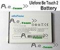 Para ulefone ser touch 2 bateria 100% novo de alta qualidade 3050 mah back-up de bateria para ulefone ser sensível ao toque em estoque