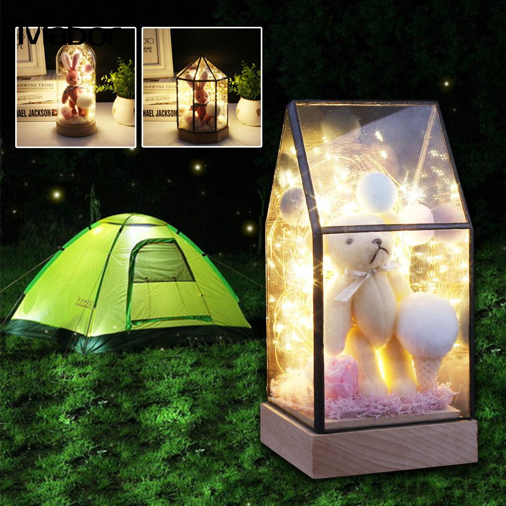 Garden House Night Light Romantic Home Decoration Bottle Lamp Indoor Lighting Room Decor брюки спортивные 3pommes брюки спортивные