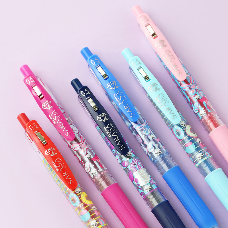 1pc Japan Zebra Sarasa Limit Gel Pen Dessert Country Cute Neutral Pen Kawaii Creative Doughnut Pens School Supplies