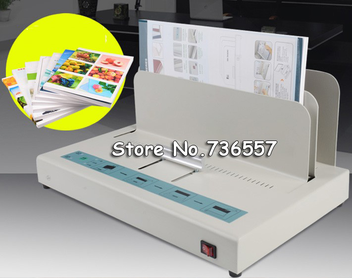 цена на 1 PCS 220V 50Hz 100W SK5000 Hot Glue Binding Machine Desktop Perfect Paper Thermal Binder Electric Metal Book Maker
