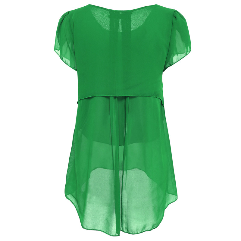 short sleeve chiffon blouse (8)