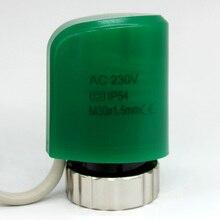 24 v 230 v normalmente abierto cerrar válvula actuador térmico Eléctrico de calefacción por suelo radiante colector calefaccion suelo radiante actuador