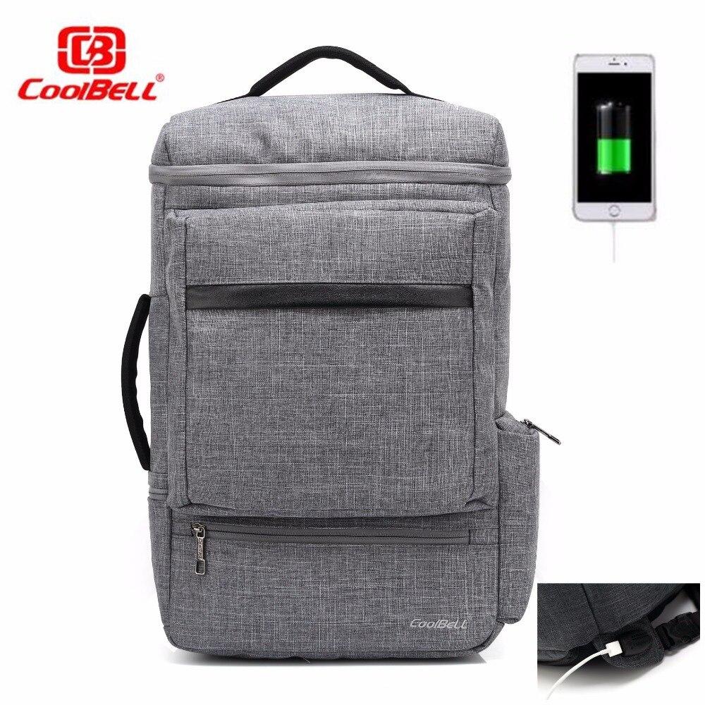 Notebook samsung kualitas - Kualitas Tinggi Tas Laptop Ransel Multifungsi Tahan Air Linen Eksternal Usb Pengisian Antarmuka Untuk Apple Macbook