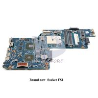 NOKOTION NEW For Toshiba Satellite L850D C850D laptop motherboard H000050830 H000052430 H000051780 DDR3 with hd7600m series gpu