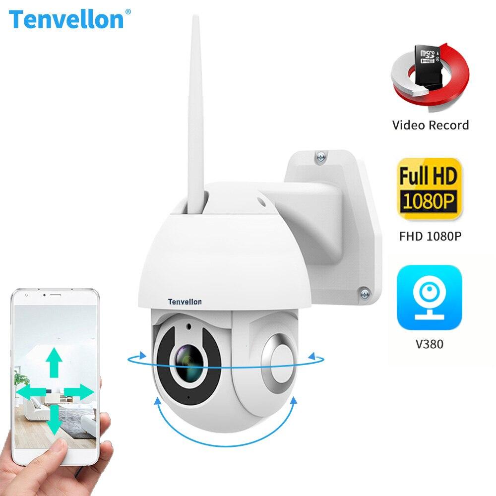 V380 caméra IP WIFI 1080P extérieure étanche PTZ caméra vitesse dôme CCTV caméras de sécurité caméra IP Surveillance vidéo à domicile