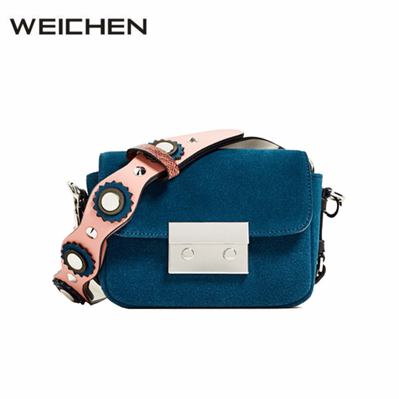 Luxury Handbags Women Bags Designer 2017 Newest Winter Blue Cross Body Bag For Women Messenger Bags Ladies Korean Bag Sac A Main 2017 luxury brand tote bag luxury handbags women bag designer women messenger bags cross body bags sac a main femme de marque