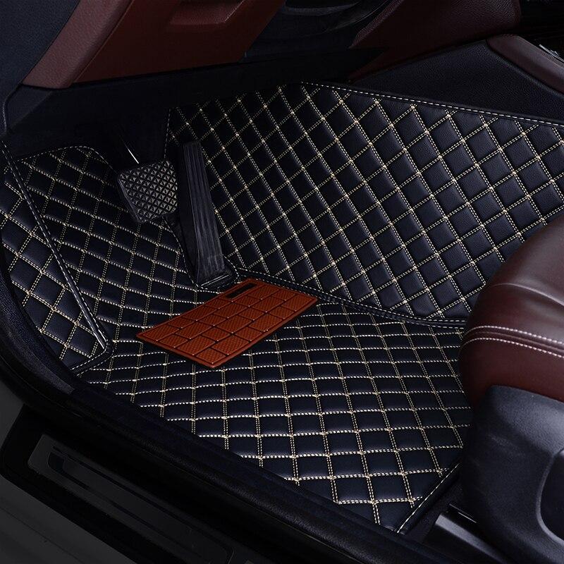 ETOATUO Auto car floor mat For renault fluence kadjar captur scenic 3 laguna 3 logan sandero