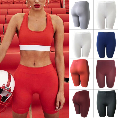 Women's Leggings Stretch Biker Shorts Workout Spandex New Seamless Sports Women's Pants Casual Shorts