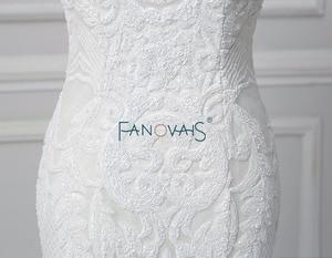 Image 5 - Vintage Lace Mermaid Wedding Dress Vestido de Novia  2019 Backless Wedding Gowns robe de mariee Turkey Bride Gowns