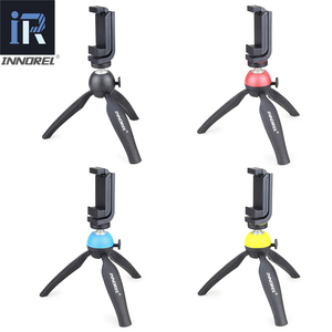 Image 3 - INNOREL PW10 Multifunctional Mini Tabletop Tripod Phone Clip Holder Mount Selfie Stick For Mirrorless cameras & Most cellphones