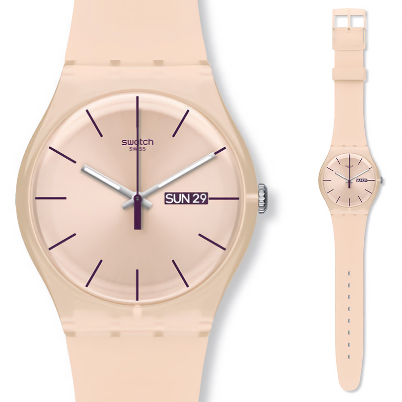 Swatch Watch Original Colorful Quartz Watch Student Couple Watch SUOT700