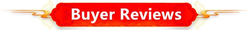 Buyer Reviews