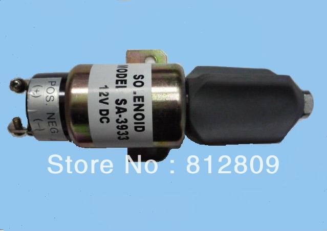 1751-2467UIB1S5A Fuel Shutdown Solenoid Valve for  70B 24V + free fast shipping solenoid 02 332169 for hydraulic solenoid directional valve 12v