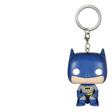 "7 ""NECA 2PCS Batman Harley Quinn PVC DC Action Figure Collectible Modelo Toy keychain encantador Filmes Presentes Para crianças com caixa(China)"