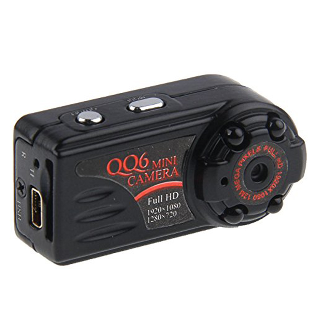 Mini Camera HD 1080P Mini DV QQ6 Motion Detector IR Mini Camera Night Vision DV DVR Mini Cam Micro Camera Webcam Camcorder(China (Mainland))