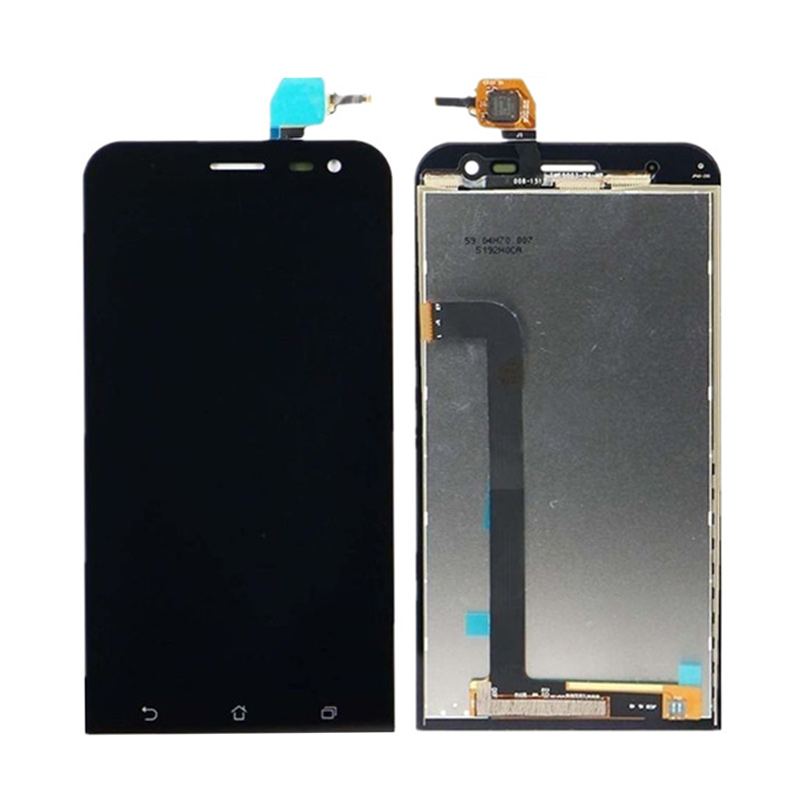 5For Asus Zenfone 2 Laser ZE500KL ZE500KG Z00ED LCD Display Panel Touch Screen Digitizer Glass Sensor Frame Assembly in stock black zenfone 6 lcd display and touch screen assembly with frame for asus zenfone 6 free shipping