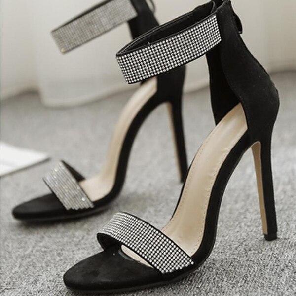 HTB1NgEir JYBeNjy1zeq6yhzVXar Boussac Luxury Rhinestone Women Sandals Sexy Bling Crystal High Heel Women Sandals Elegant Party Shoes Women SWC0234