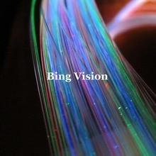 5 цветов светодиодный волоконно-оптический Звездный потолочный комплект, 100 шт. 1,0 мм оргстекло, оптическое волокно длиной 2,0 м, с 4 Вт светодиодный осветитель