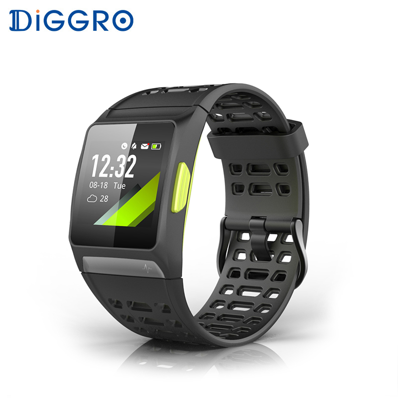 P1 GPS Smart Watch Color Screen 50 meters Waterproof Sports Modes Bluetooth 4.2 Heart Rate Monitor multiple smart watch sports modes bluetooth gps heart rate monitor two side straps sports business smartwatch