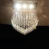 Z K9 Crystal Ceiling Lamp Heart Shape LED Chandelier Modern Lighting Fixture Foyer Dining Room Lamps Home Lighting Bulb Included