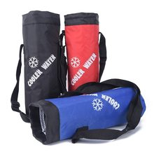 Water bag Universal Drawstring Water Bottle Pouch High Capacity Insulated Cooler Bag Outdo