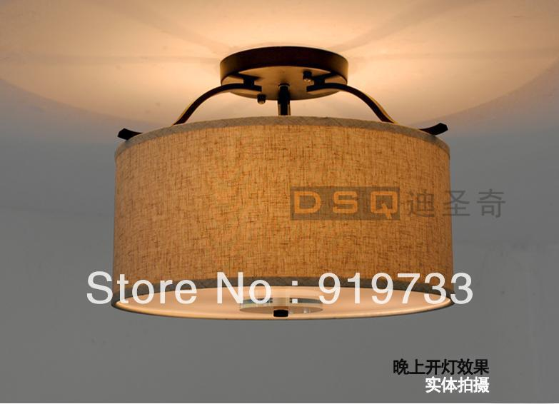 American countriy style Nordic fashion bedroom ceiling light -Diameter 400mm/500mm american country style small balcony ceiling light diameter 400mm