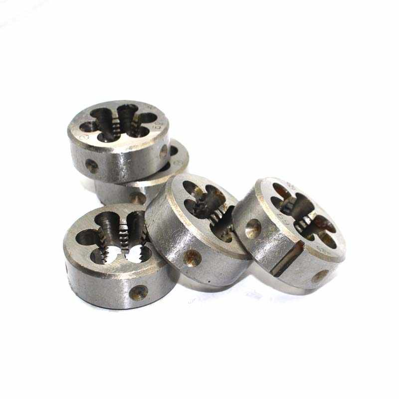 M5.5 M6 M7 x 0,5 мм 0,75 мм 1 мм Метрическая Правой руке Die Шаг Threading инструменты для формы обработки * 0,5 0,75 1