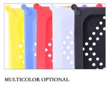 2019 1 sztuk wysokiej jakości silikonowe ochronne HDD pokrywa zewnętrzna 2 5 cal Dard który nie wiadomo jak dysk do 2 5 SATA IDE dysk twardy dyski twarde rekwizyty tanie tanio W ALLOYSEED Silicone Protective Cover For 2 5 SATA IDE HDD Hard Drives Yellow Blue Red White Black 105 X 75 X 11mm
