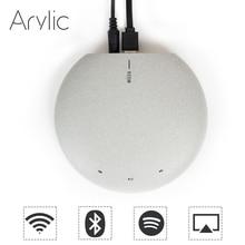 Muzo Cobblestone WiFi Audio Receiver Adapter with Wolfson DAC Airplay DLNA  Multiroom 24Bit 192kHz Free Android iOS App