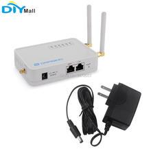 LFor Dragino LG02 podwójny kanał LoRa Gateway bezprzewodowy Transceiver 915MHz 868MHz 433MHz LoRaWAN Repeater GPS automatyka domowa