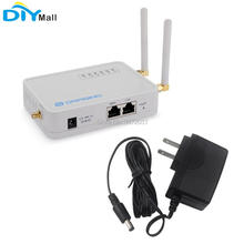 Lfor Dragino LG02 Dual Channel Lora Gateway Draadloze Transceiver 915 Mhz 868 Mhz 433 Mhz Lorawan Repeater Gps Domotica
