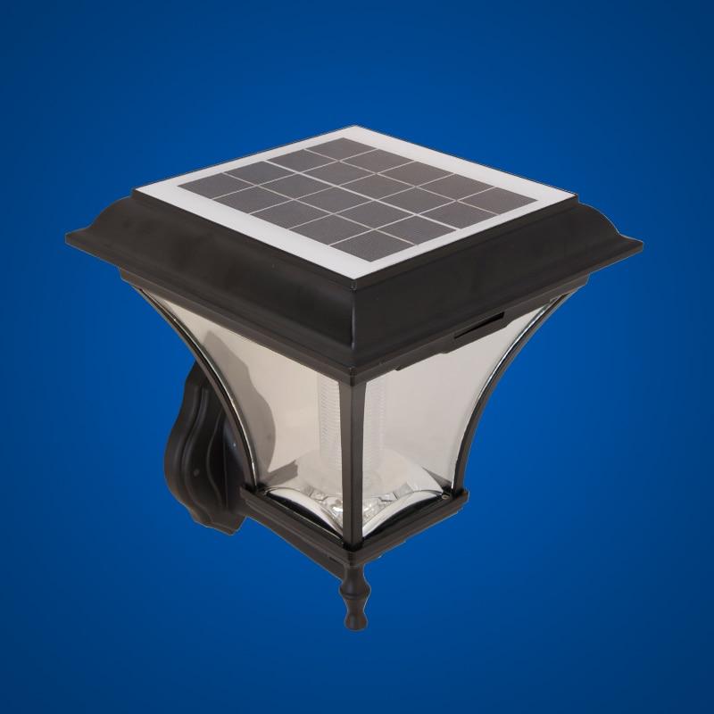 Helle Outdoor LED Solar Garten Wandleuchte Wasserdicht Veranda Lampe ...