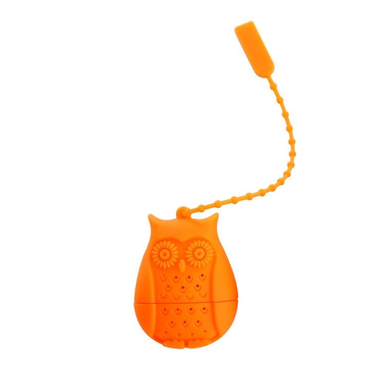 Set of 4 Silicone Owl Tea Bag Creative Silicone Tea Infuser Filter for Mug Tea Pot Empty Tea Bags for Loose Tea Kitchen Accessories (2)