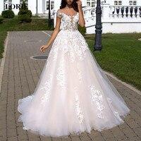 Элегантное свадебное платье с цветочным принтом, цвета шампанского, а силуэт, свадебное платье с открытой спиной, свадебное платье с открыт