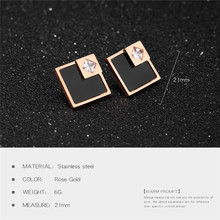 Earrings Stainless Steel Model 1