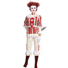 Halloween Movie Cosplay Costumes Europe and America Horror Thriller Fiction Evil Clown Costume