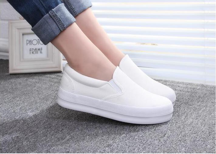 Aliexpress.com : Buy 2016 Spring Fashion Women's Shoes Slip on ...