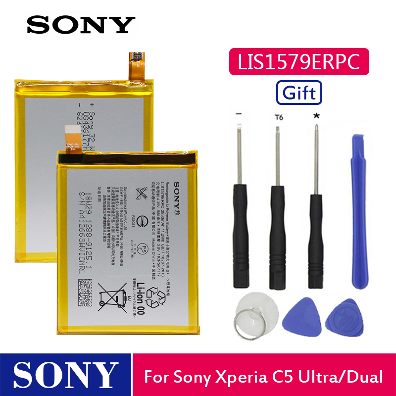 Sony Phone-Battery-Lis1579erpc Replacement E5506 2930mah Original For Xperia C5 Ultra