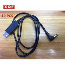 XQF 10 PCS Baofeng UV5R USB Battery Charger For Portable Two Way Radio Walkie Talkie Baofeng Uv-5r Uv-5re 5RB Uv-5ra Accessory аксессуары для раций baofeng uv 5r 5ra 5rb 5rc 5 5re 5rg leatherpouch 5r