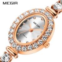 MEGIR Fashion Watch Ladies Women Quartz Watches Luxury Girl Time Clock Woman Female Montre Femme Relogio Feminino Wristwatches