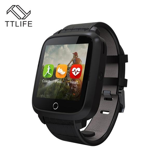 TTLIFE Bluetooth Smart часы U11S 1 г Оперативная память 8 г памяти Встроенная память MTK6580 Quad Core монитор сердечного ритма Android 5.1 Смарт часы с Камера