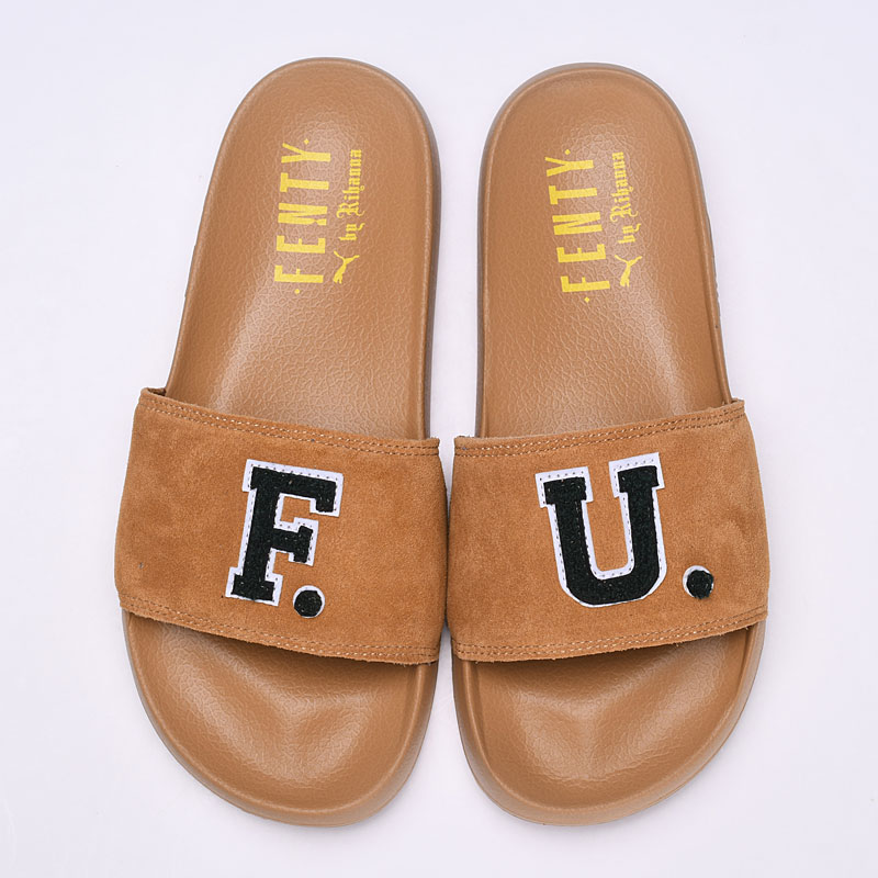 2018 PUMA Women s Fenty x F.U. Leadcat Slides men s shoes Breathable ... 3a50f4388