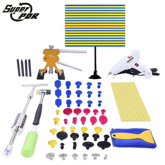 Super PDR Paintless Dent Removal Tools Store - Brand New PDR Tools Kit Line Board Car Glue Gun for Sale -  Auto Body Shop
