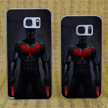 DREAM FOX B3137 Red Batman Cool Knife Transparent Hard PC Case Cover For Samsung Galaxy S 4 5 6 7 8 Mini Edge Plus Note 3 4 5 8(China)
