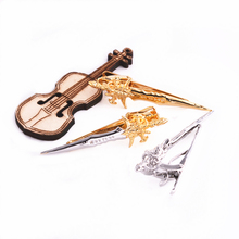 3 Color Mens Metal Tie Clip Clamp Copper Novelty Medieval Weapons Sword Bar Clasp Wedding