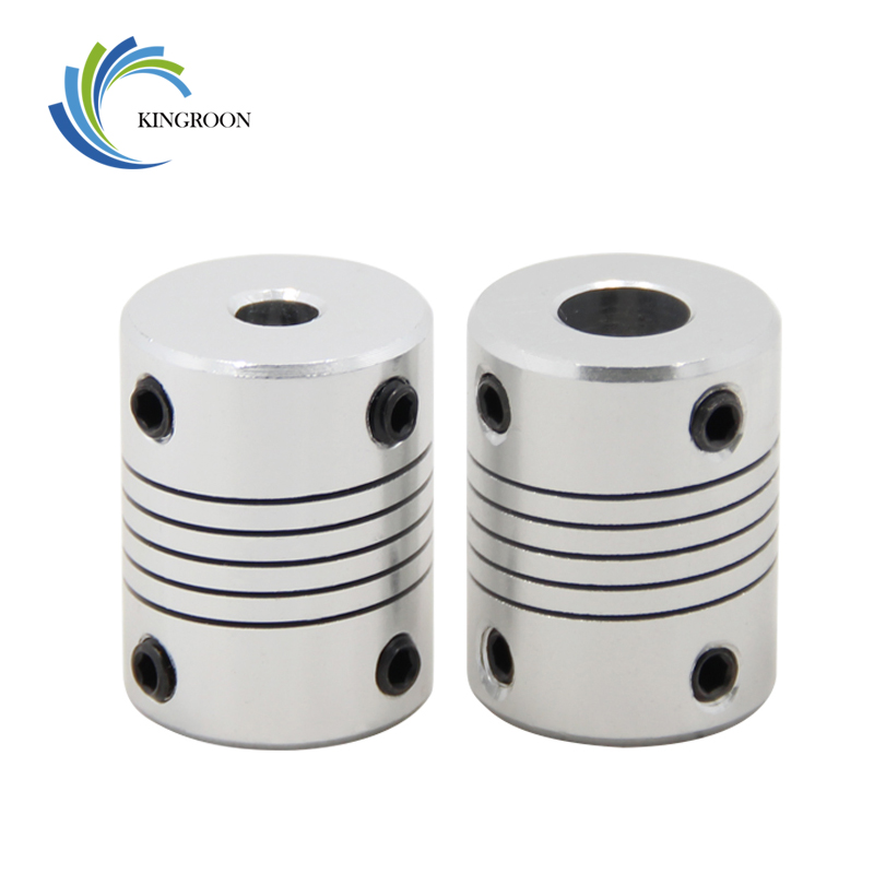 KINGROON 10pcs/lot 3D Printer Stepper Motor 5x8x25mm Flexible Coupling Coupler /Shaft Couplings 11 Sizes Parts Free Shipping 0 10pcs lot tlp291gb sop 4 optical coupler oc optocoupler