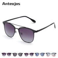 3f43cef65 ANTEOJOS Brand Trending Products 2019 Outdoor Women Man Double Bridge  Polarized Gradient Sunglasses Lunettes De Soleil