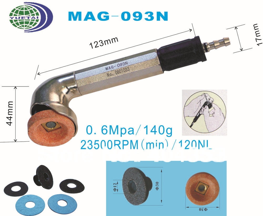 Air  angle grinder MAG-093N Air Tools Max.Free Speed:23,500RPM air die grinder mag 094n air tools max free speed 23 500rpm