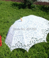 Household Merchandises long handle craft umbrella unshade Princess umbrellas free shipping