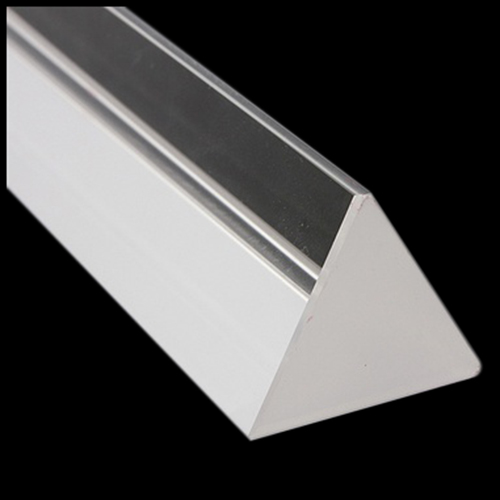 15cmx3cm Rainbow Optical Glass Triple Triangular Prism Physics Teaching Light Spectrum with Gift Box